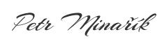 Petr Minarik signature