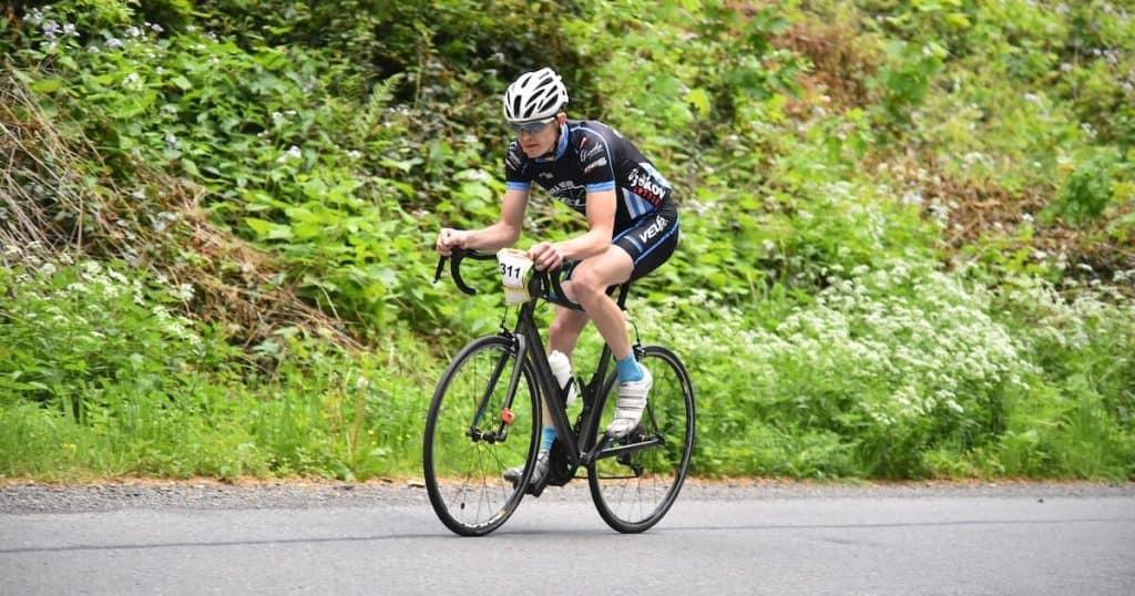 Road bike race ITT