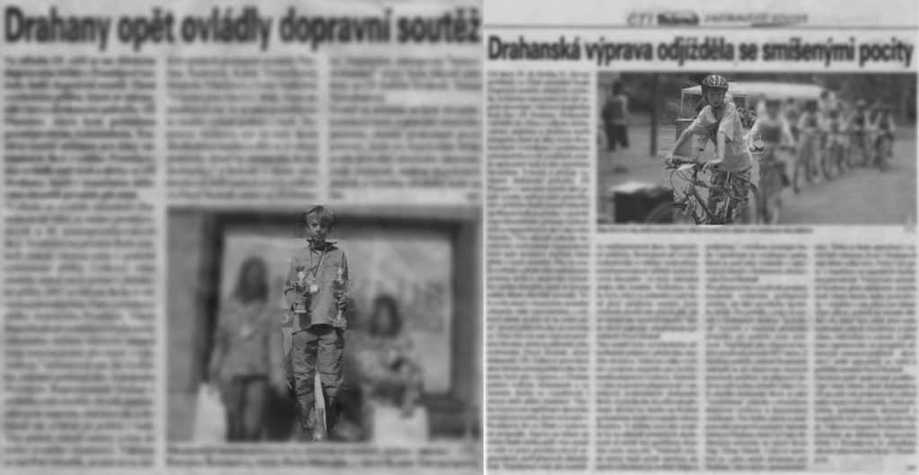 Young Cyclists Article in Newspapers
