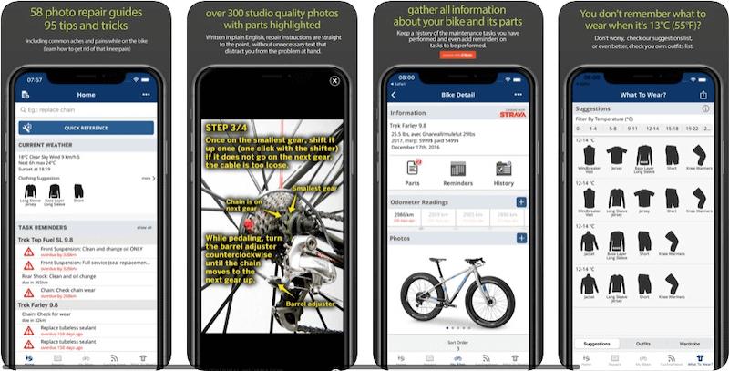 Bike Maintenance App by bikerepairapp.com