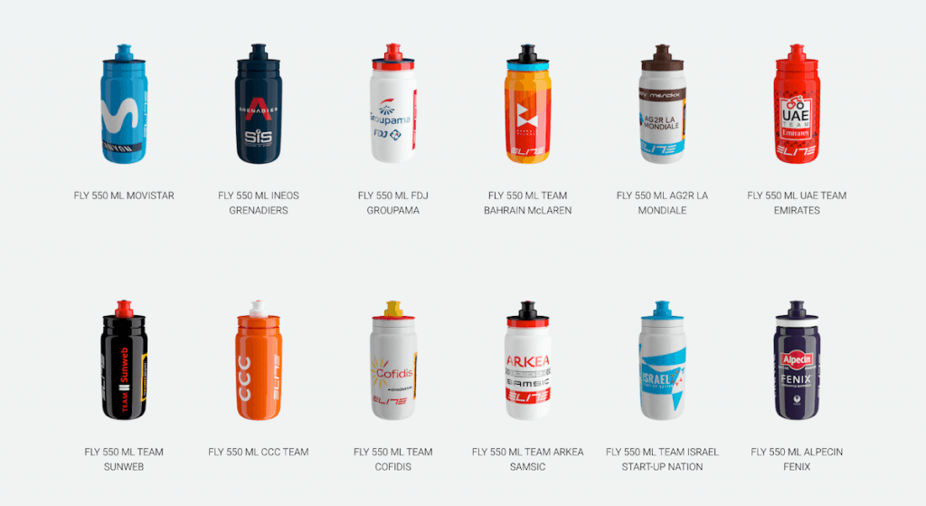 Elity Fly Team bike bottle