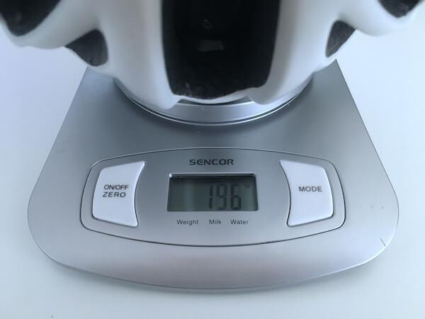 Agu Tesero Weight 196g