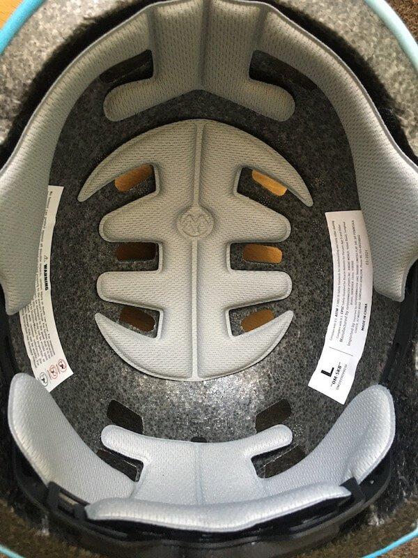 OutdoorMaster Skateboard Helmet Inside Padding