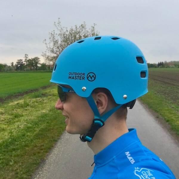 OutdoorMaster Skateboard Helmet Left Side