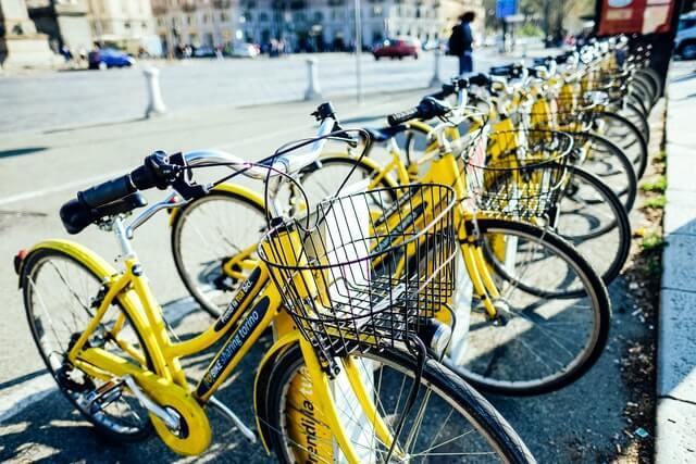 bicycle statistics transportation stats