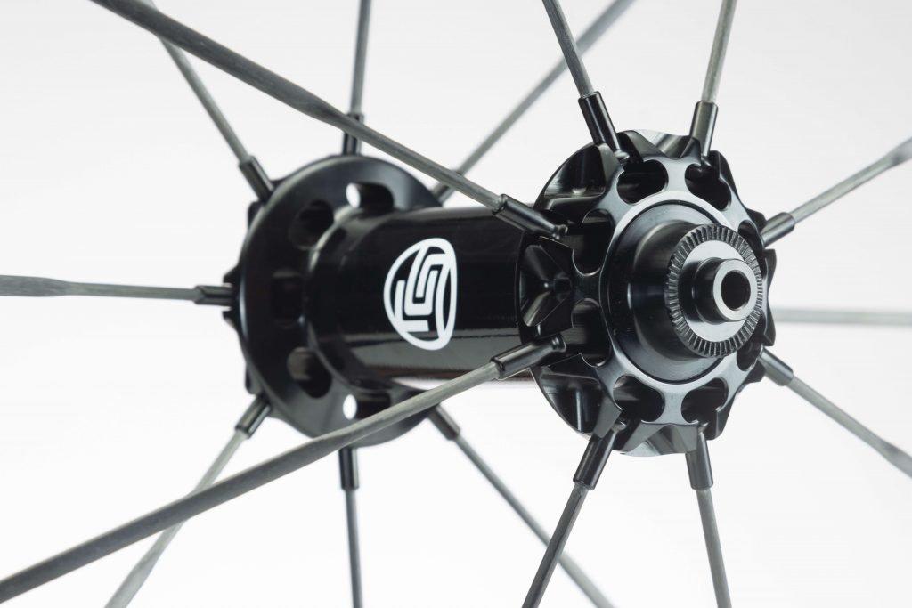 HYPER wheels hub and spokes detail