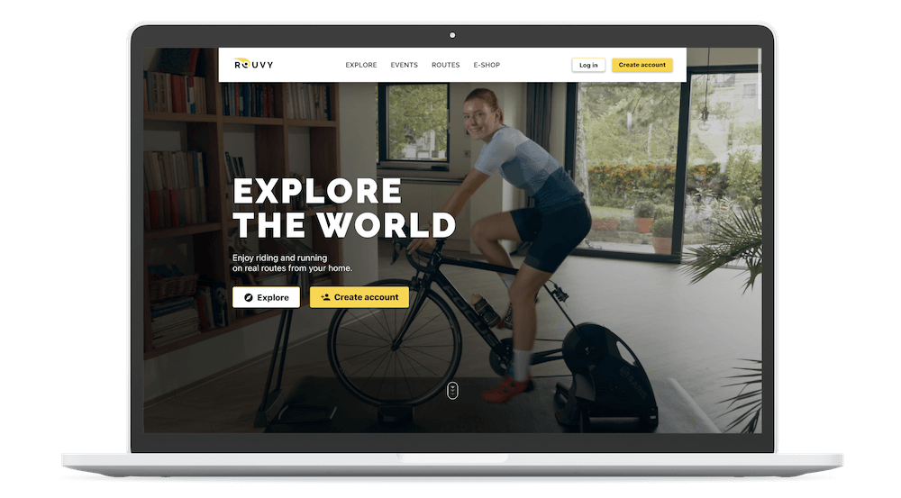 Rouvy Indoor Cycling App