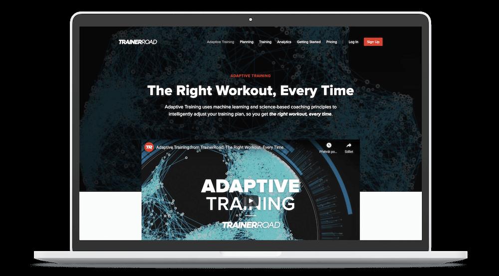 TrainerRoad Indoor Cycling App