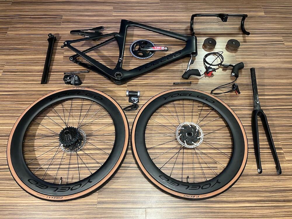 YOELEO R9 build parts