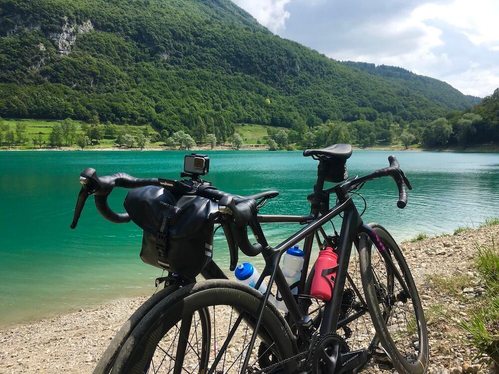 Craft Cadence handlebar bag at Lago Di Tennno