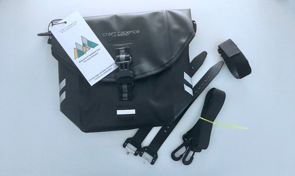Craft Cadence handlebar bag package contents