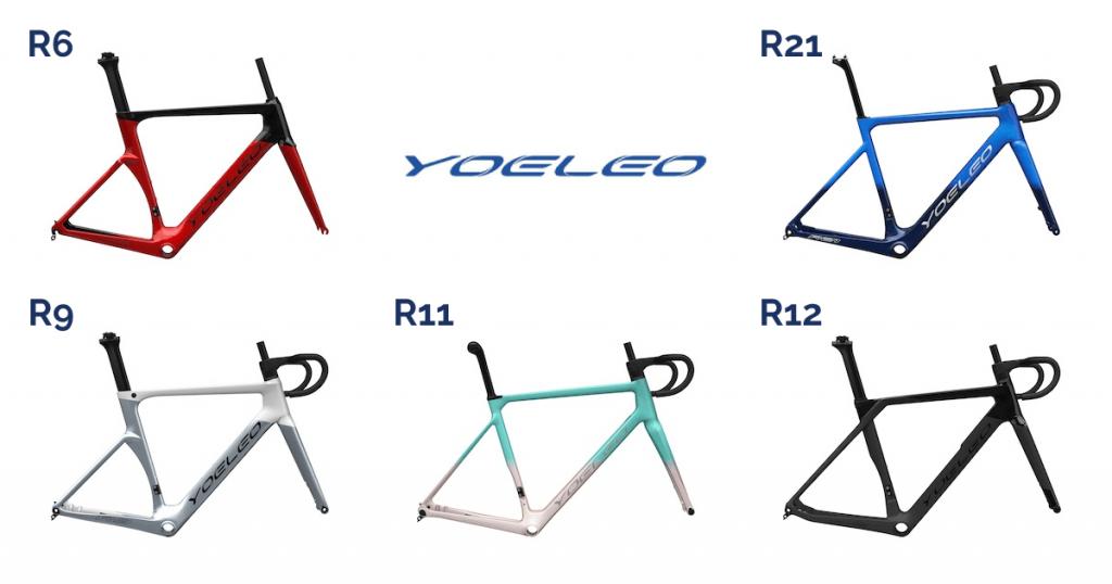 YOELEO Road Bike Frames R6, R9, R11, R12, R21