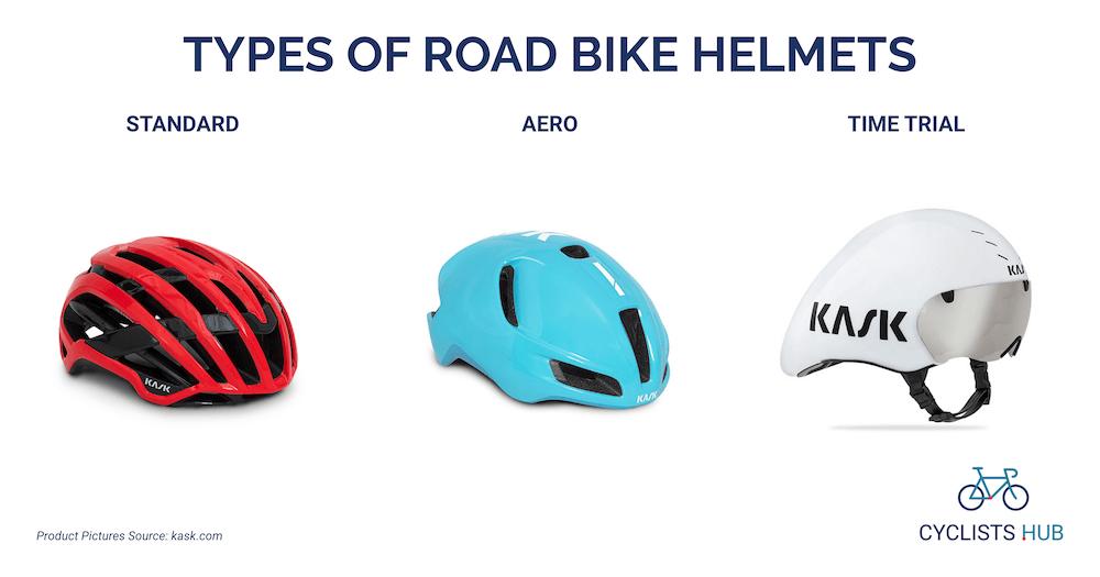 types of road bike helmets